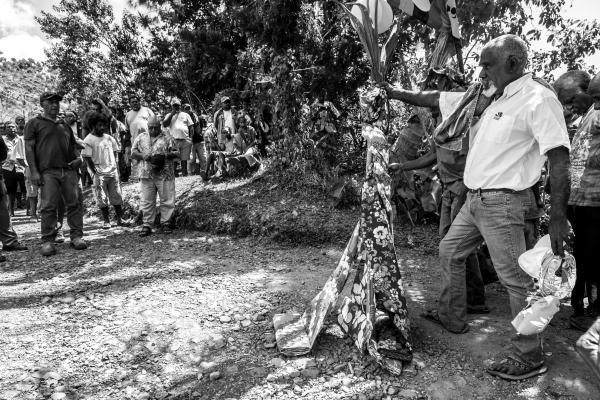 Entree dans la tribu de la femme - Coutume de mariage Kanak